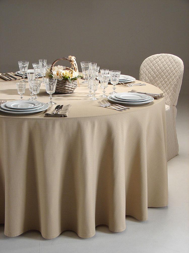 Tovagliato per eventi aurora - Tovaglia per tavolo ovale ...